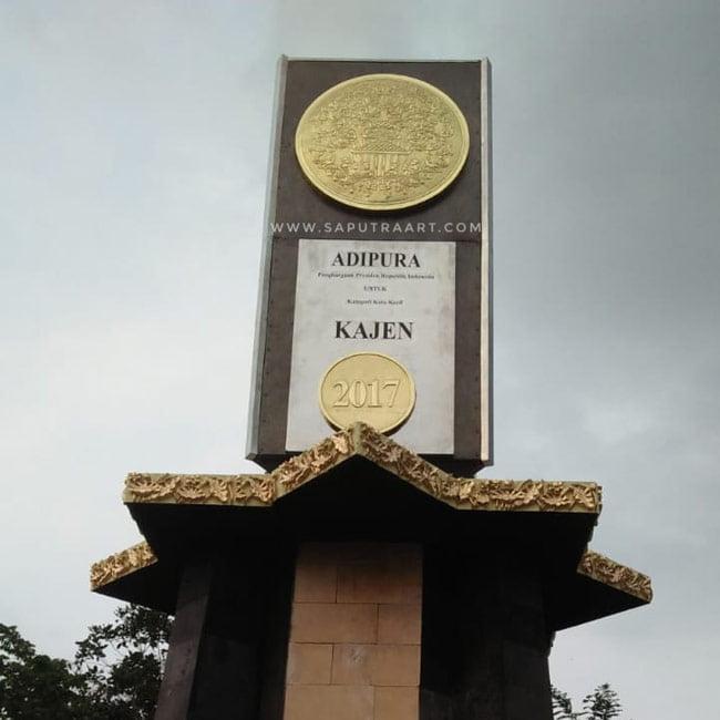 Tugu Monumen Kuningan Tembaga