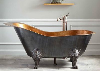 Bathtub Tembaga Kaki Macan