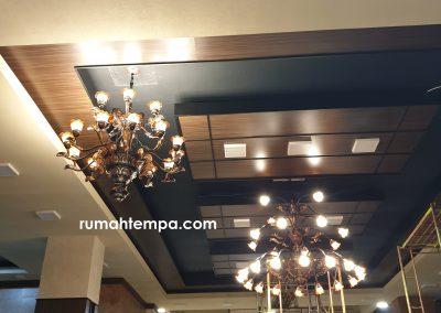 Pemasangan Lampu Robyong di Mabes AD, Jakarta.