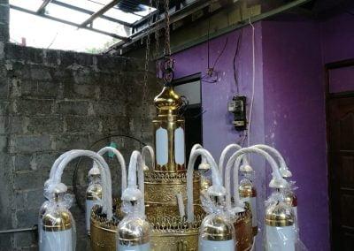 Lampu Nabawi Kuningan D 1m