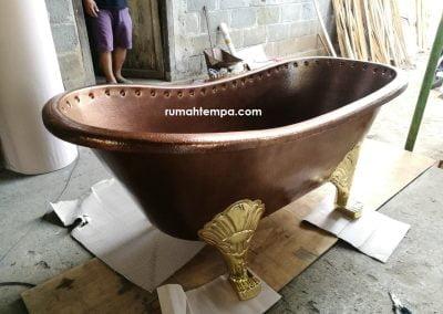 Bathtub Tembaga Kuningan