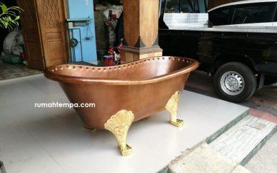 Jual Bathtub Tembaga Kaki Macan
