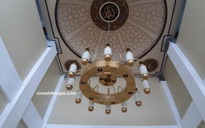 Lampu Masjid Kuningan Tembaga