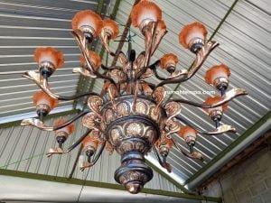 Kerajinan Lampu Robyong