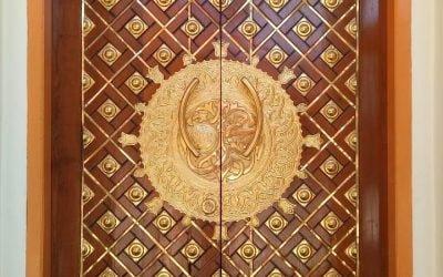 Pintu Masjid Kuningan