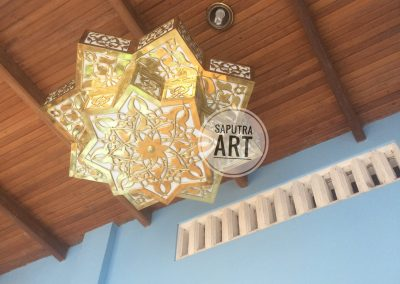 Lampu Nabawi Kuningan Custom