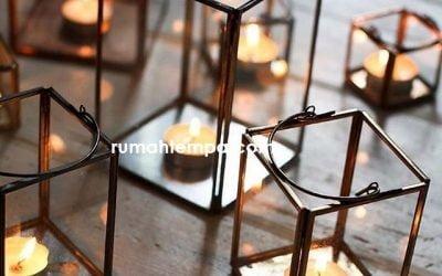 Tempat Lilin Kuningan Tembaga