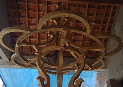 Lampu Robyong Tembaga Custom