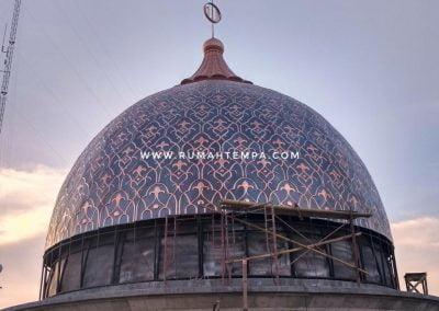 Kubah Masjid Kuningan Tembaga