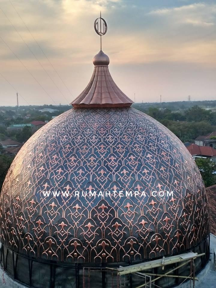 Copper Brass Dome