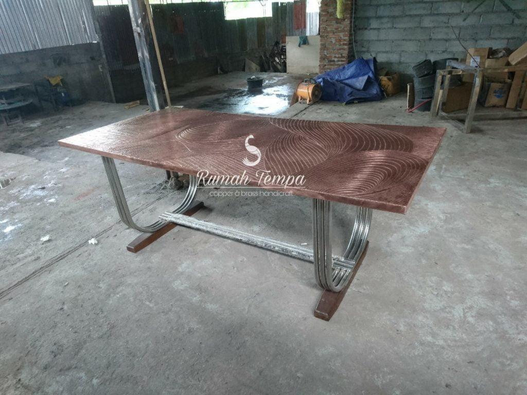 Side Table Tembaga