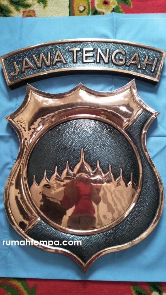 plakat logo tembaga
