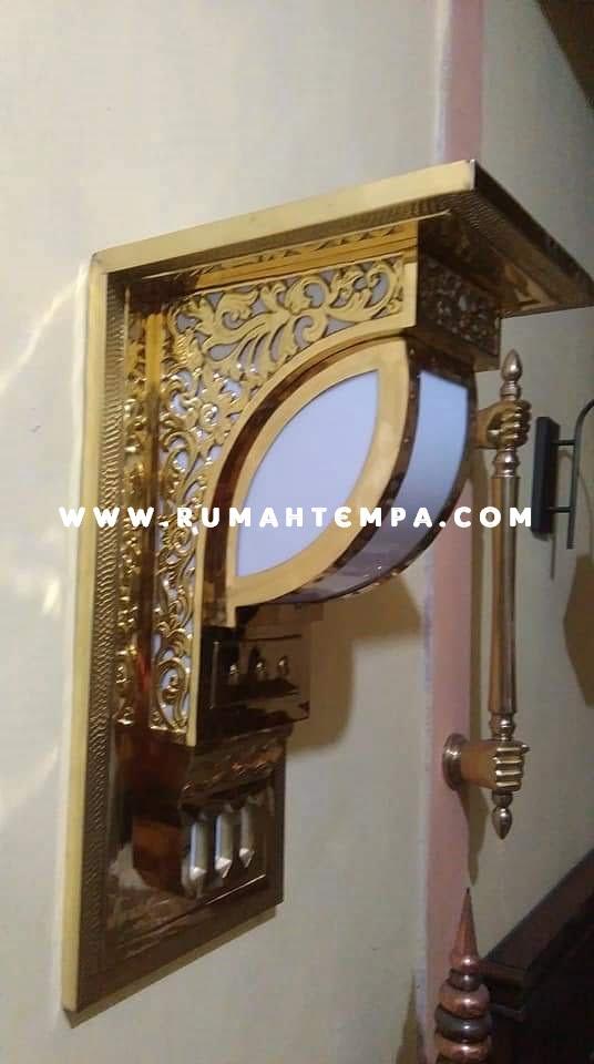 Lampu dinding masjid nabawi