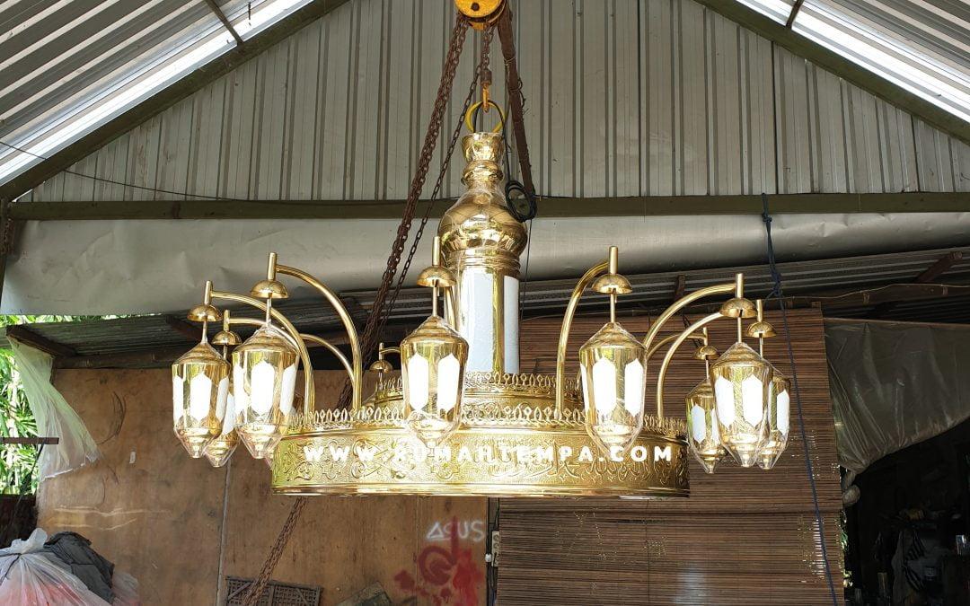 Lampu Masjid Nabawi Madinah
