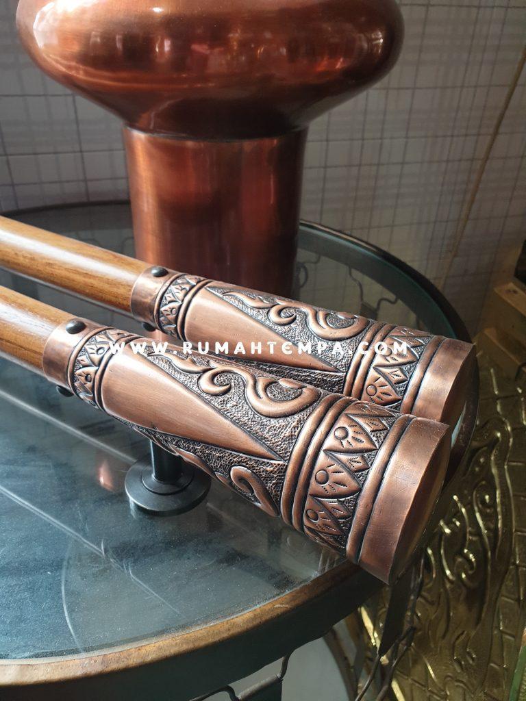 handle pintu tembaga