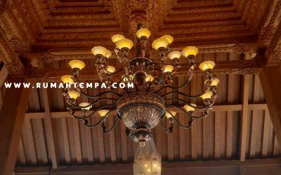 Kerajinan Lampu Robyong Tembaga