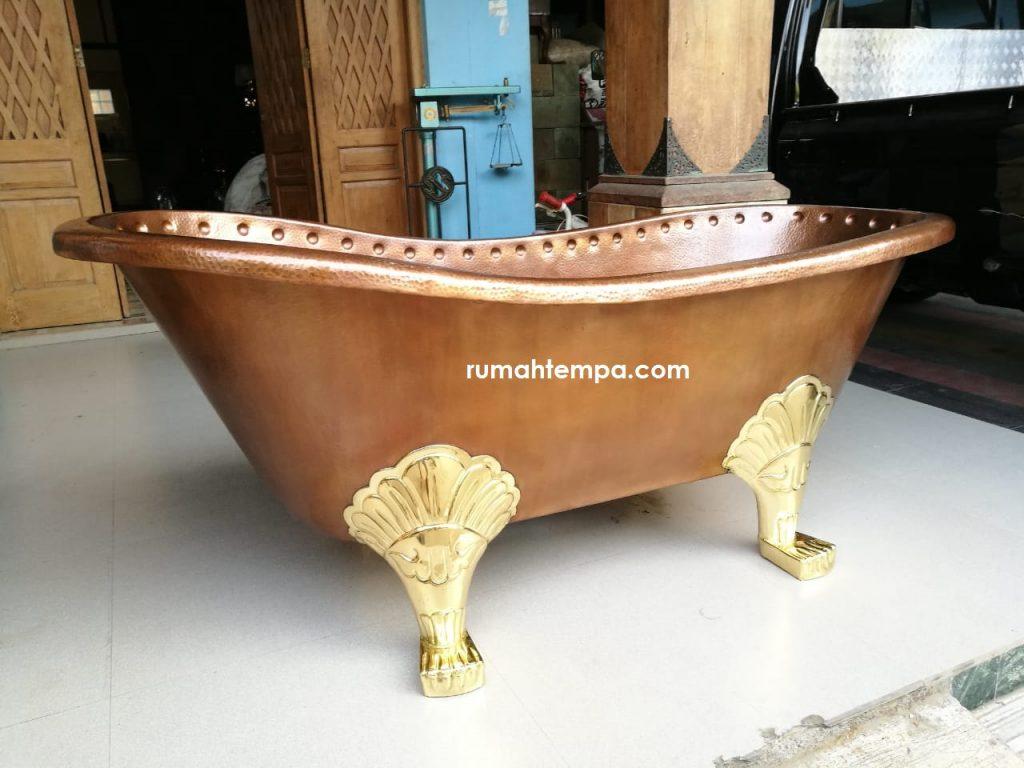 kerajinan bathtub tembaga kuningan