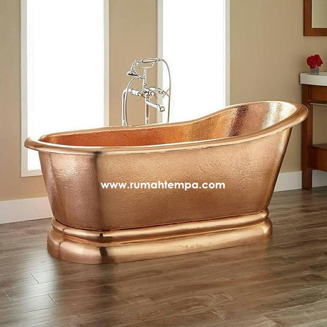 design bathtub tembaga