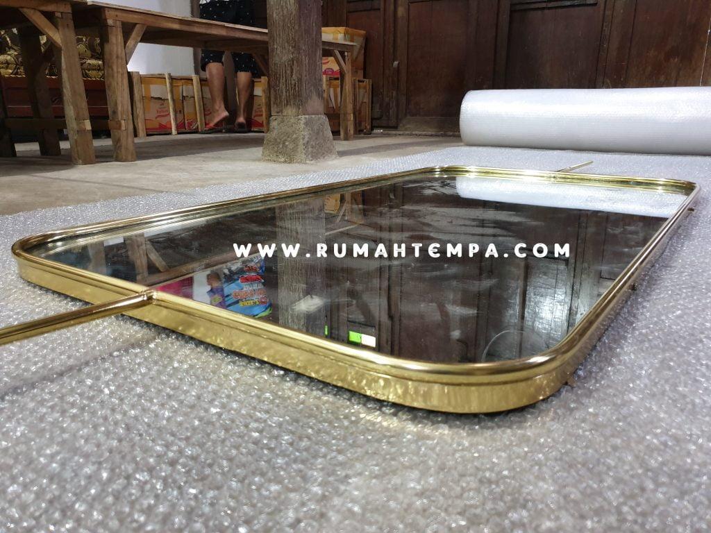 kerajinan cermin kuningan custom